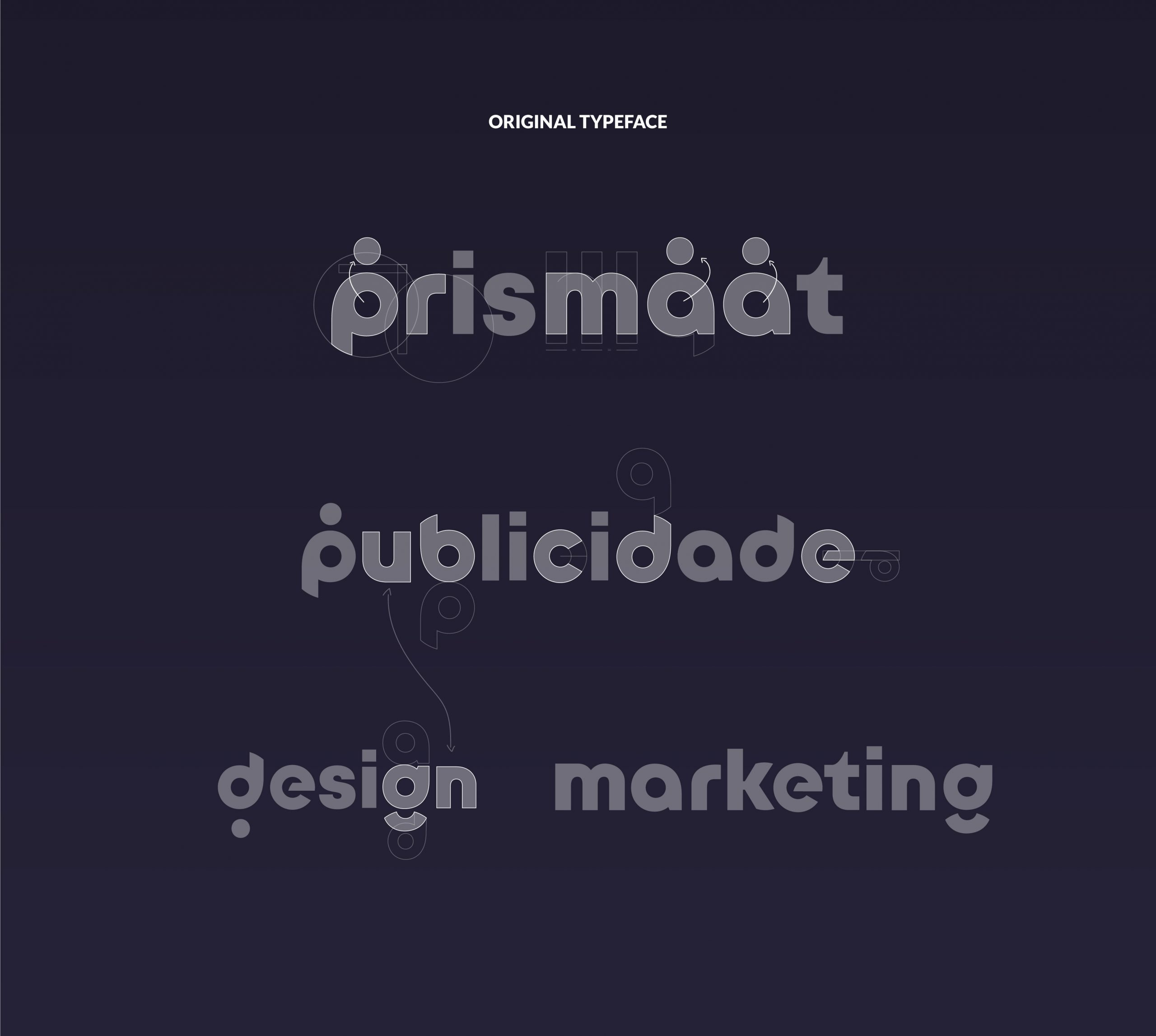 Prismaat Spin Off Typeface